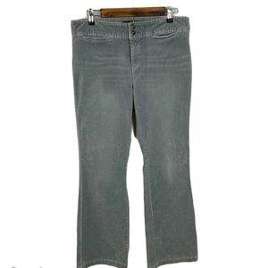 Express Jeans Womens Velvet Stretch Pants Sz 13/14